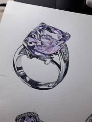 Watercolors - Jewelry 01 by SarAngelyst