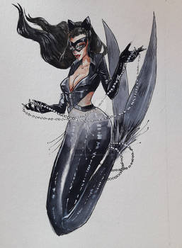 MerMay 2018 - Day 11. CatWoman