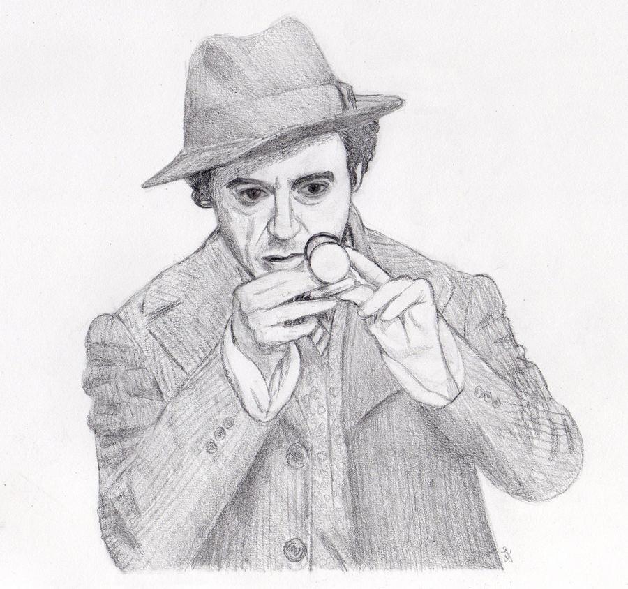 Sherlock RDJ by sherlockart