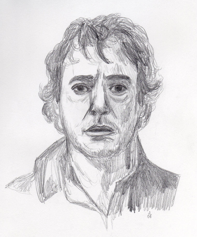 Robert Downey Jr. as Holmes by sherlockart