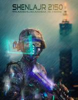 Shenlajr 2150 - Transhumanism is here by AranniHK