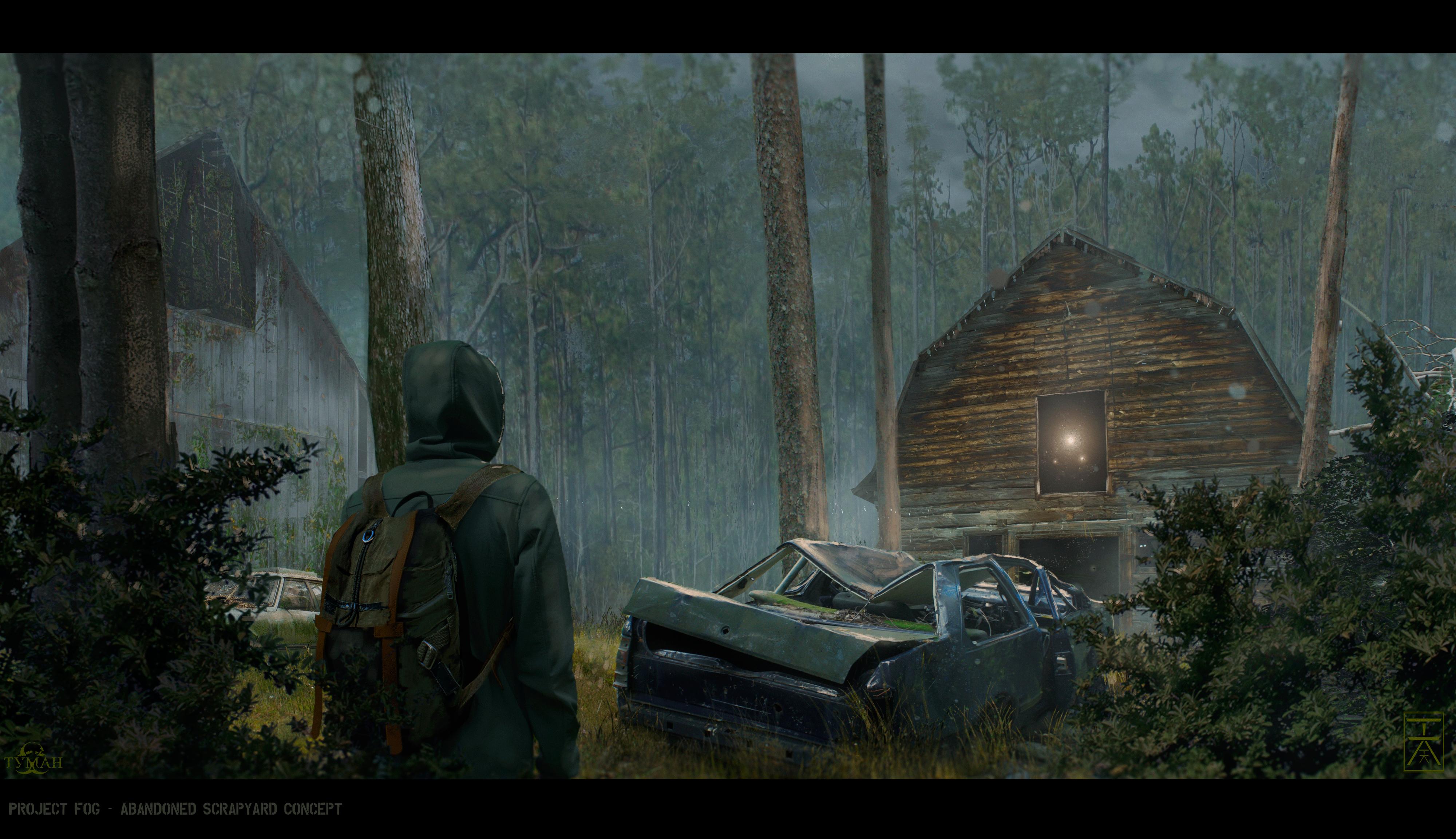 Project FOG - Abandoned Scrapyard by AranniHK