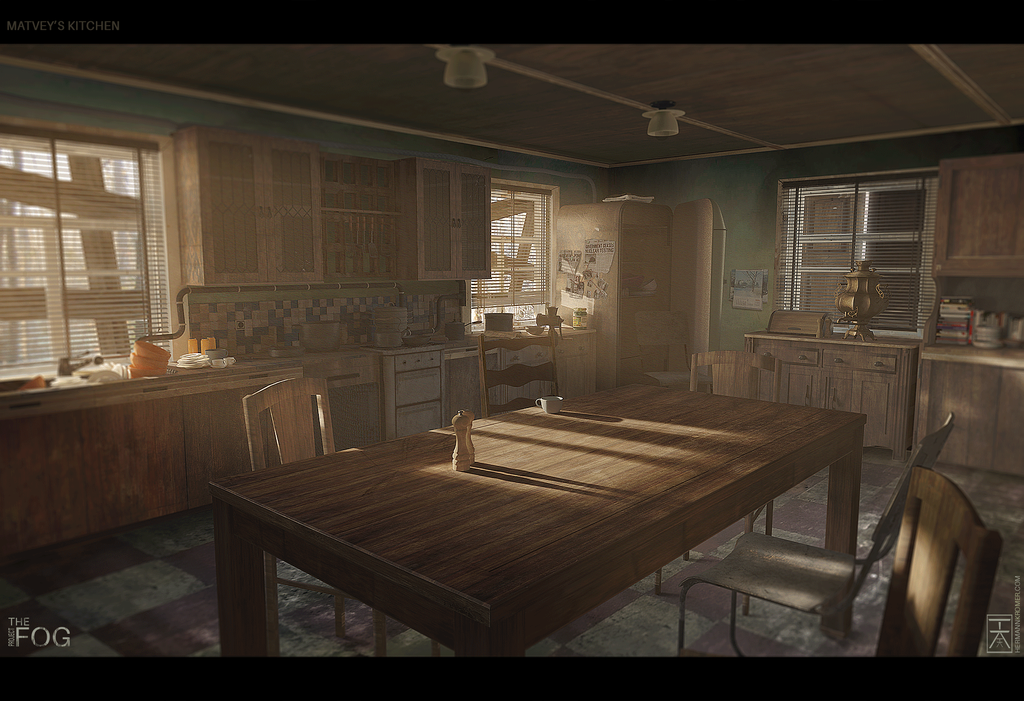 Project FOG - Matvey's Kitchen by AranniHK