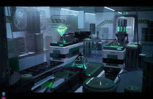 Blood of Sol - The Drug Laboratory by AranniHK