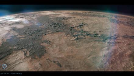 Outer Veil - Planet Honos Surface by AranniHK
