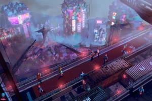 Dark Stars - Cyberpunk RIO by AranniHK