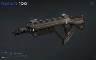 Outer Veil - RMAR 100  Overview 1 Concept Art by AranniHK