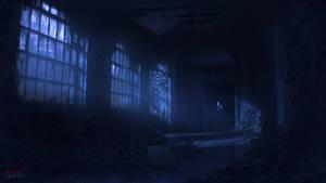 Nightmare's Embrace - Overgrown Corridor