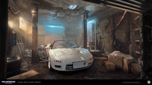 The Uncertain - Abandoned Garage v2