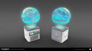 The Uncertain - Holographic Statue 2