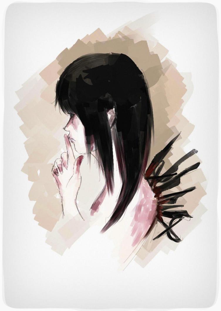 melancholy by ReyneR996