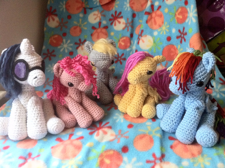Free Crochet Pattern For My Little Pony Manet For