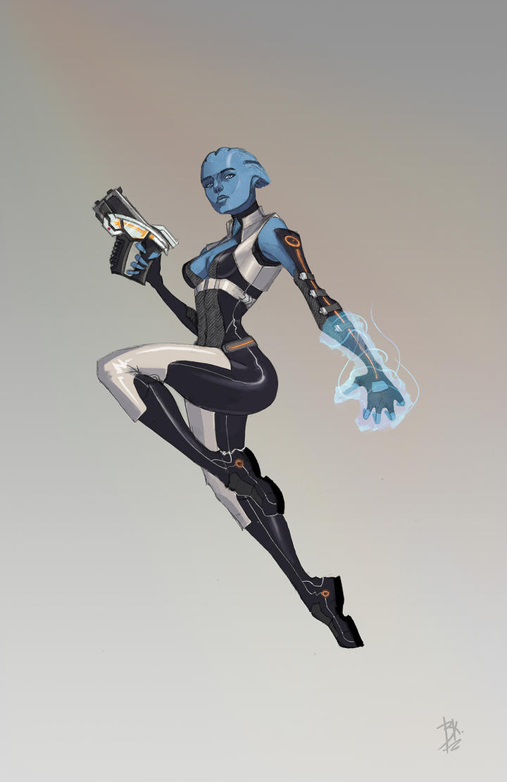 Asari by AGRbrod