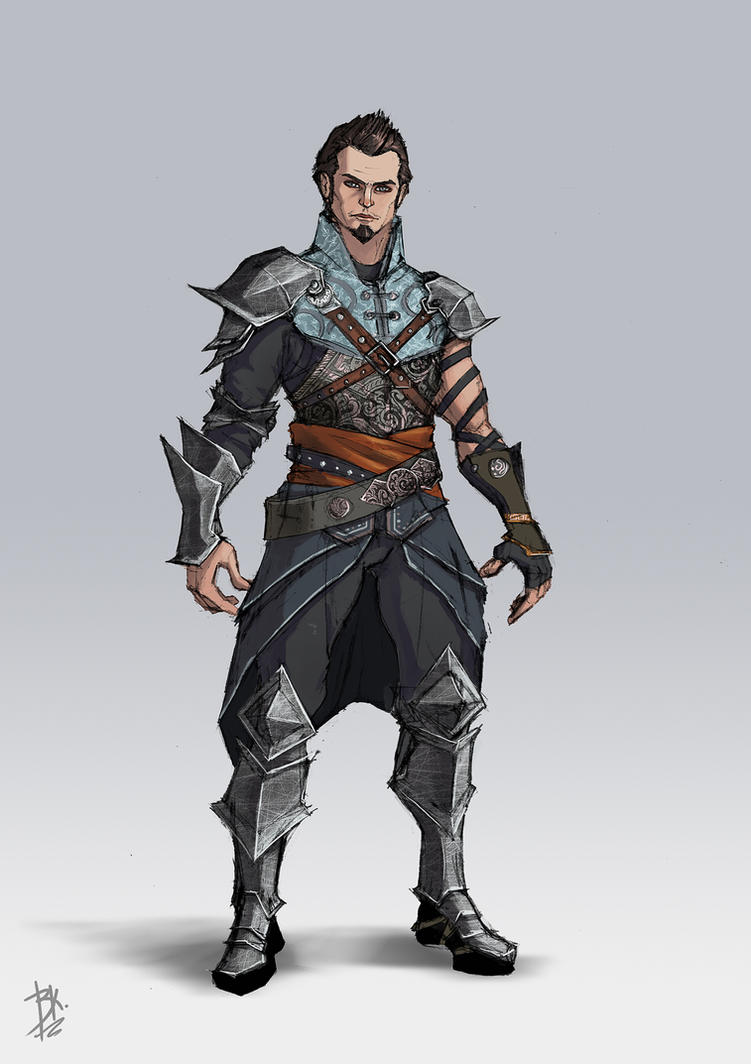 Grey Warden by AGRbrod
