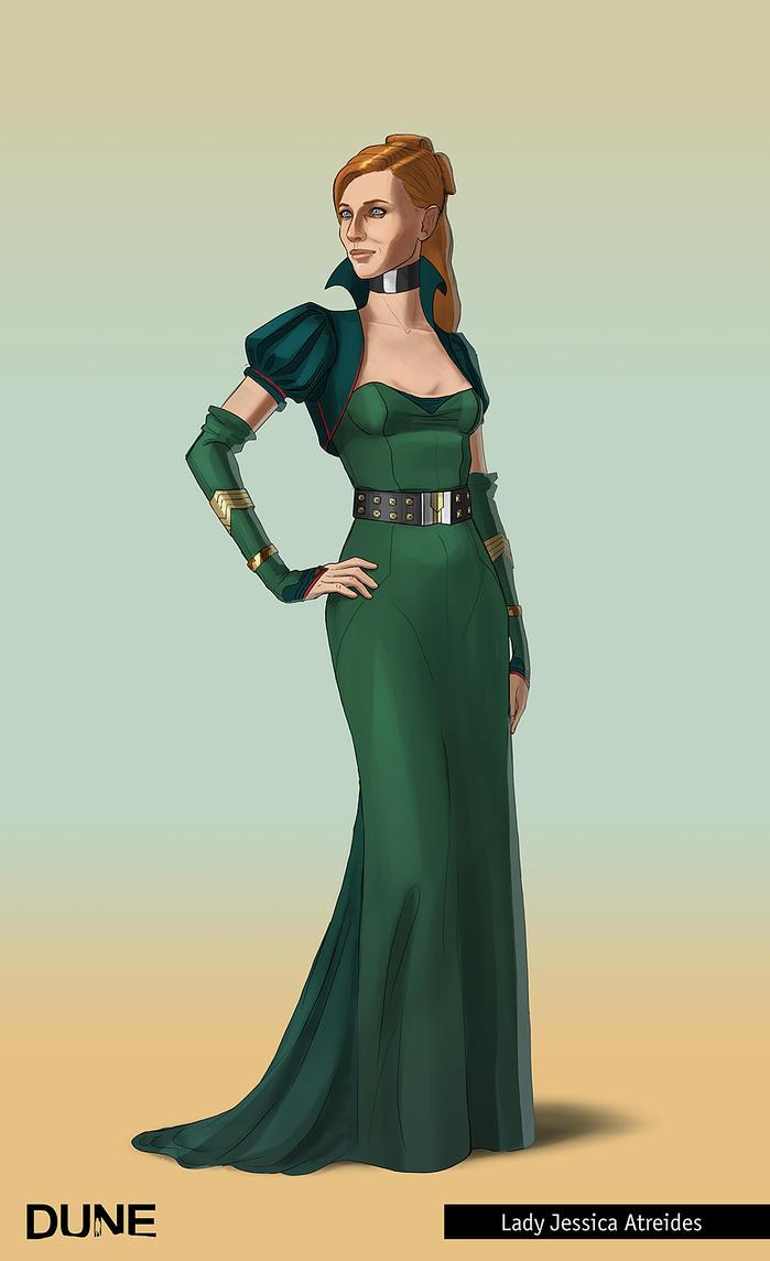 Lady Jessica by AGRbrod