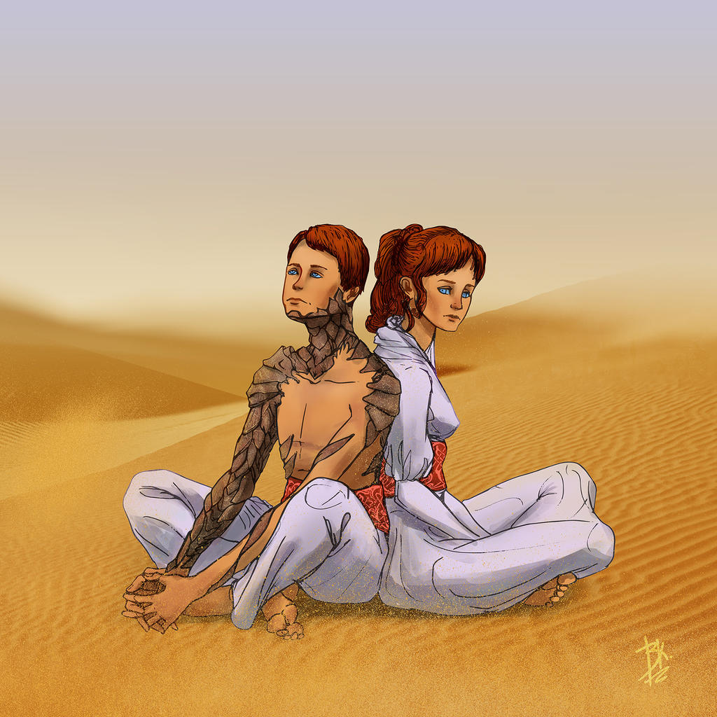 Children of Dune by AGRbrod