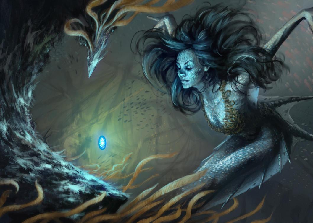 mermaid by chichibio