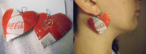 Coke-Cola Earrings