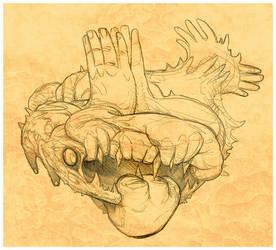 Hand Fish 1 by MisterBlackwood