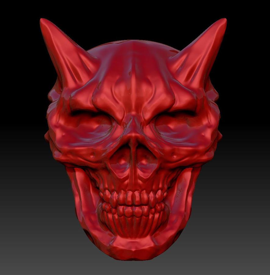 DemonSkull by MisterBlackwood