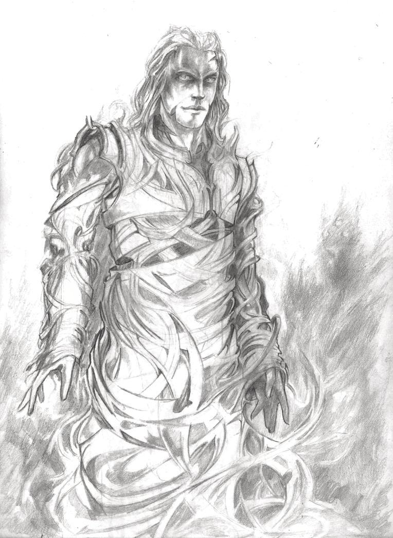 Melkor by Nahar-Doa