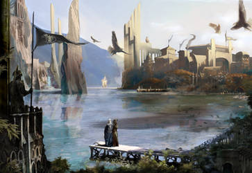 Welcome to Valinor.