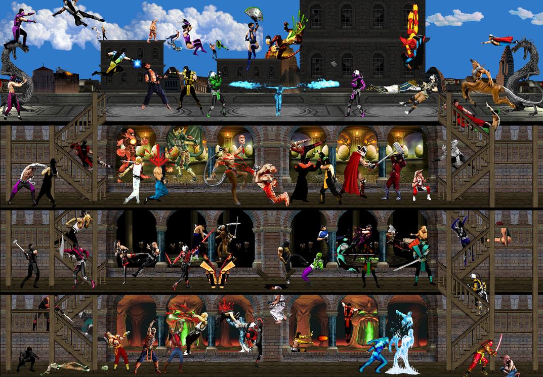 Mortal Kombat: Kombat ensues by Chimera495