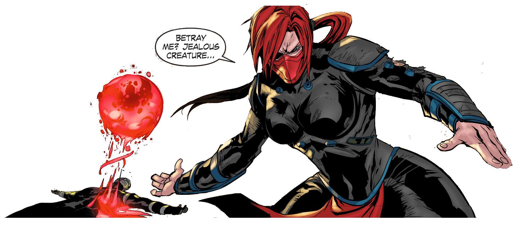 Skarlet cutout (Mortal Kombat X comic) by Chimera495 on ...