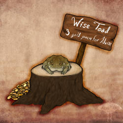 ~Wise Toad~ by Arccitius