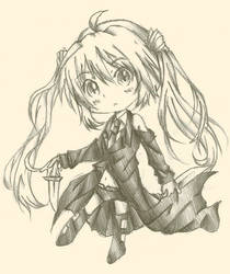 Shizuru Guardian Chibi -Rewrite-