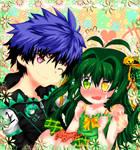 Akihiira and Kanata--Photo Booth by Fujiwara-Hatsune
