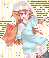 Platelet-chan by Fujiwara-Hatsune