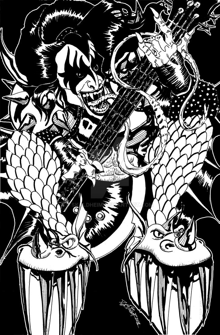 DCC Patron: The Demon by Skaldheim