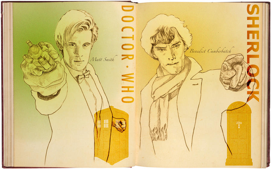 DOCTOR WHO vs SHERLOCK by 403shiomi