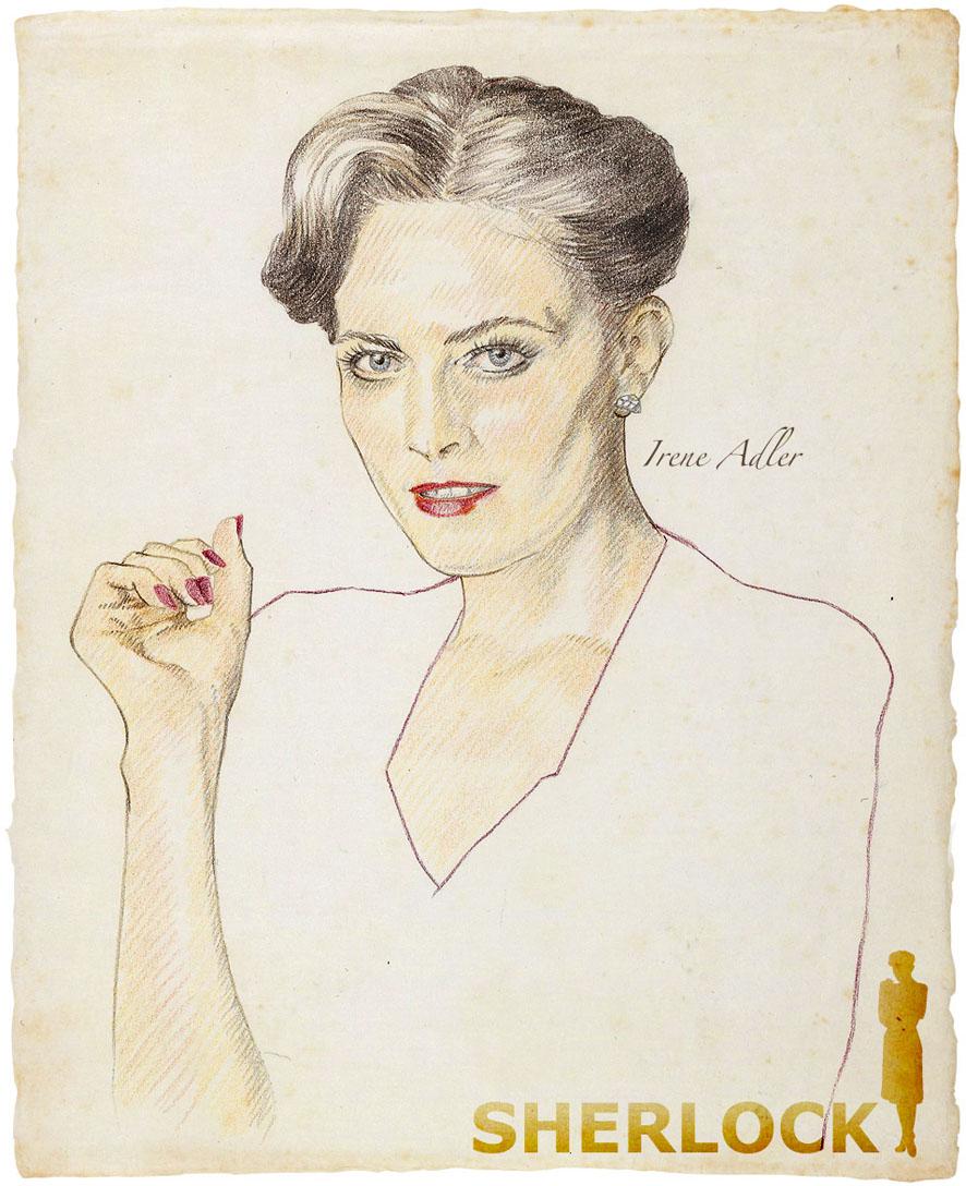 Irene Adler by 403shiomi