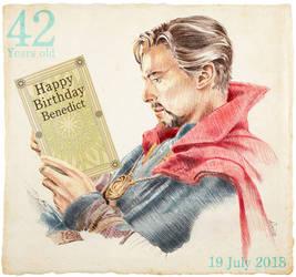 42 Happy Birth Day Benedict