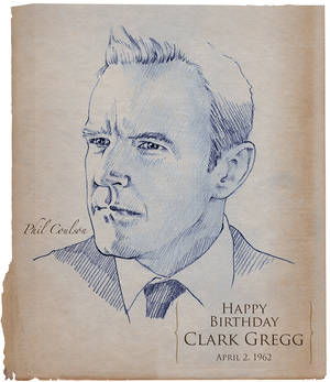 Happy Birthday Clark Gregg