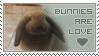 Bunnies are Love -Stamp- by Dark-Arya