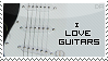I Love Guitars -Stamp- by Dark-Arya