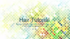 [Paint Tool Sai] Hair Video Tutorial