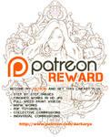 Lilacs and Gooseberries Lineart (Patreon Reward)