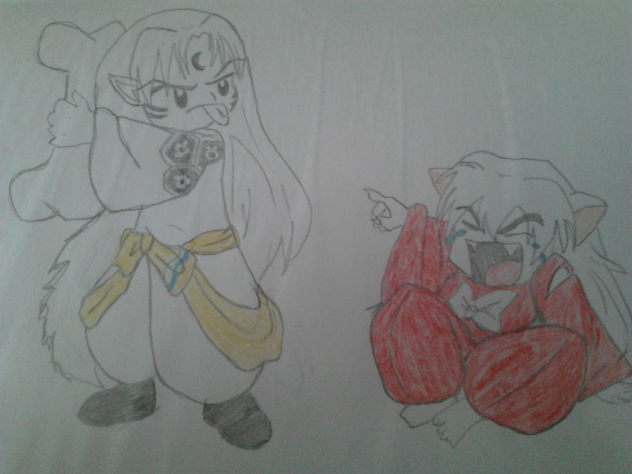 inuyasha and sesshomaru as kids by cookielover1275