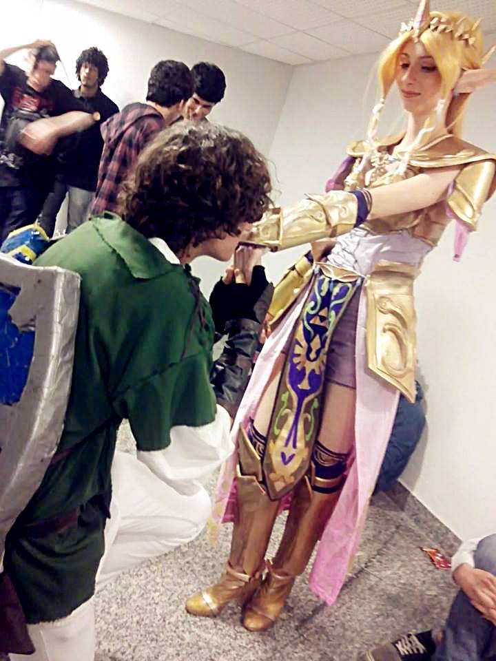 Zelda Hyrule Warriors Cosplay And Link By Yuukiq On Deviantart