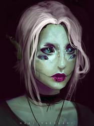 Lynn portrait by Zyralynn