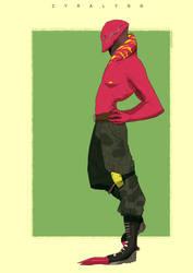 Red Alien by Zyralynn