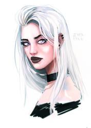 Ondine portrait by Zyralynn