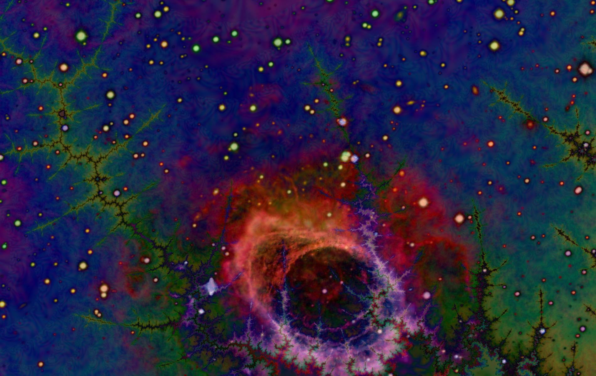 Space Fractal 1 by saintabyssal on DeviantArt  Fractals In Space