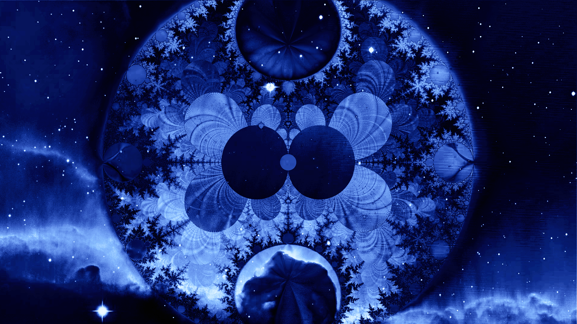 Space Fractal 39 by saintabyssal on DeviantArt  Fractals In Space