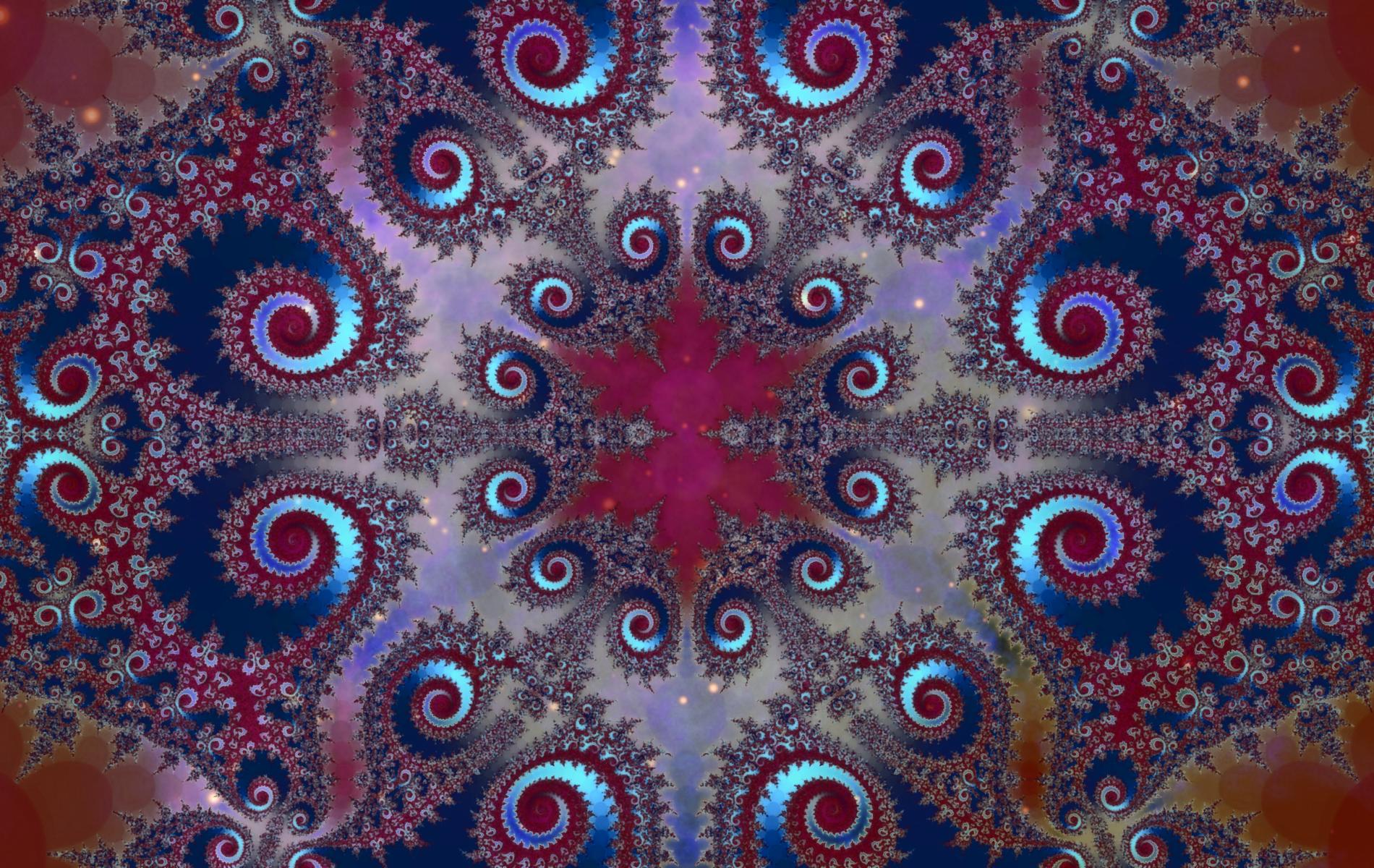 Space Fractal 48 By Saintabyssal
