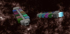 Space Container Ship v.2b